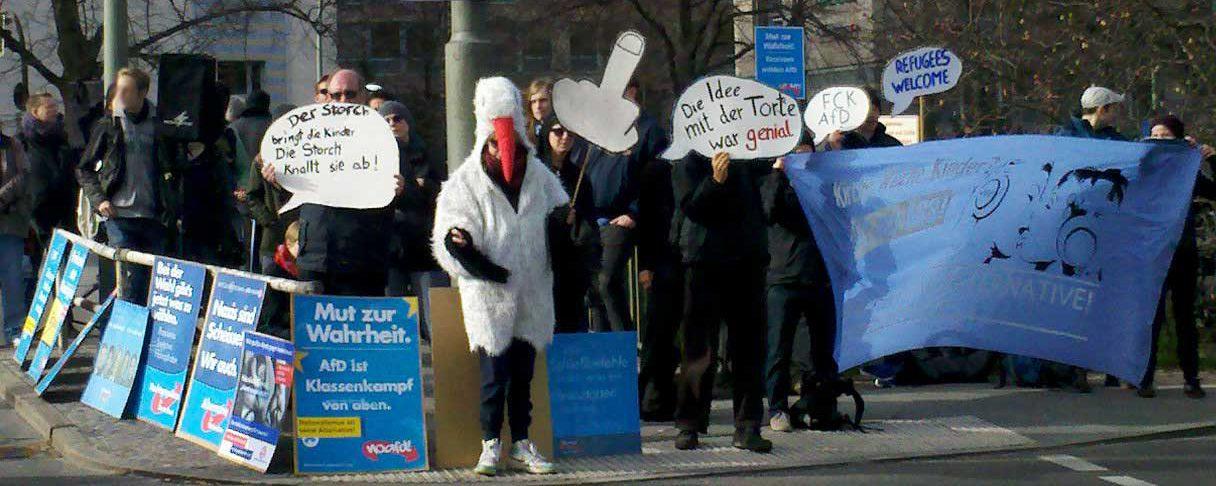 Stopp AfD in Berlin